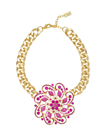 FABULOUS IN FIJI STATEMENT NECKLACE
