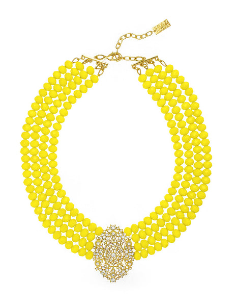 EMPRESS OF SUMMER STATEMENT NECKLACE