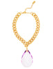 RED CARPET GLAMOUR STATEMENT NECKLACE (LILAC)