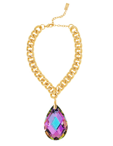 RED CARPET GLAMOUR STATEMENT NECKLACE (VITRAIL)