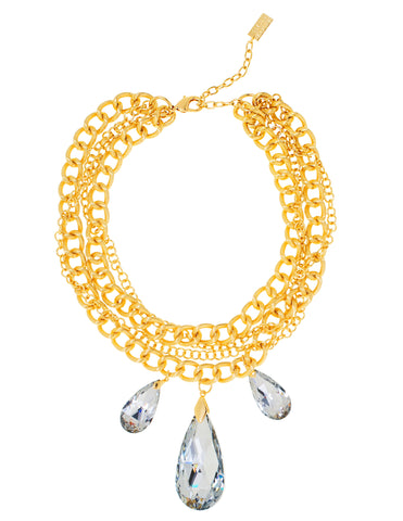GO GLAM HOLIDAY STATEMENT NECKLACE (LABRADOR)