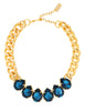 POWER DROP STATEMENT NECKLACE (MONTANA)