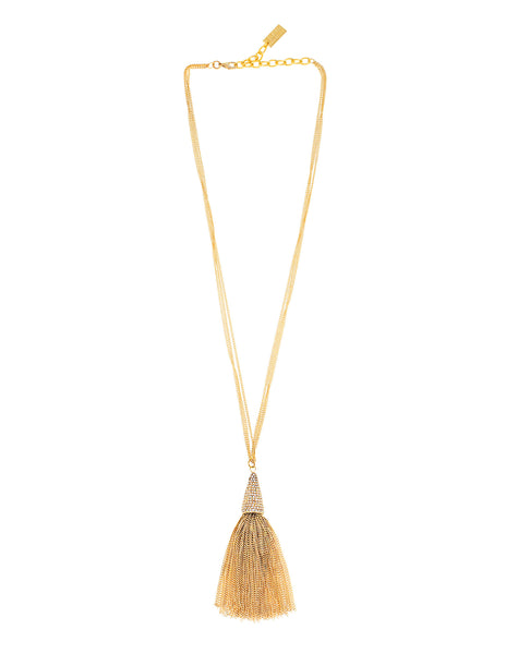 GATSBY GLAMOUR STATEMENT NECKLACE (GOLD)