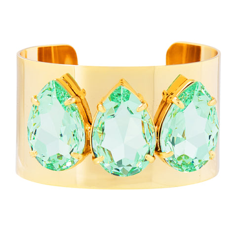 POWER DROP STATEMENT CUFF (MINT)