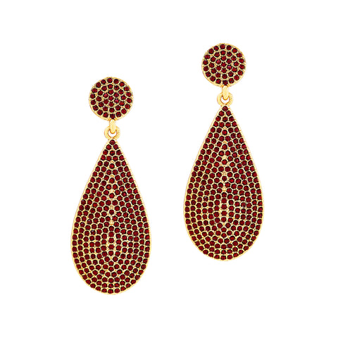 ON HOLIDAY GLAMOUR STATEMENT EARRINGS (SIAM)