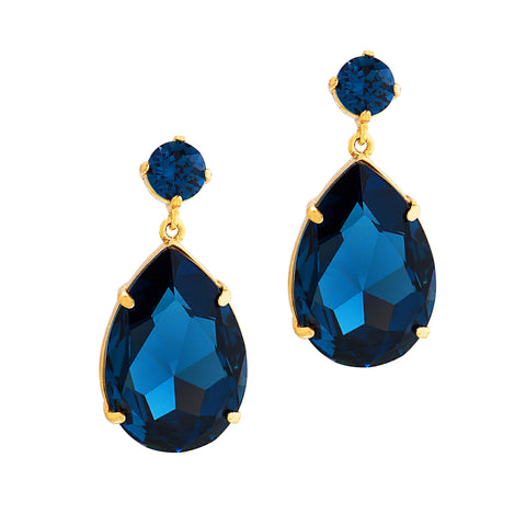 OPULENT GLAMOUR STATEMENT EARRINGS (MONTANA)