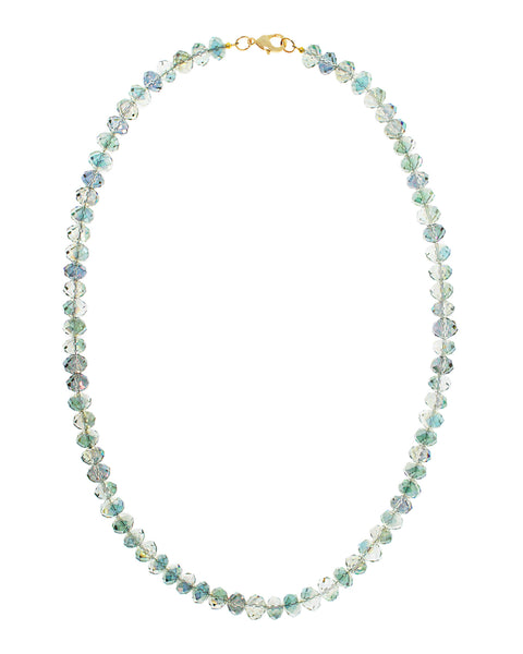 SEA OF CORTEZ STATEMENT NECKLACE (GREEN)