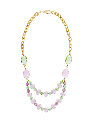 GARDEN GLAMOUR STATEMENT NECKLACE