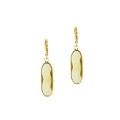 SPRING BLOOM STATEMENT EARRINGS (GOLD/YELLOW)