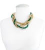 Emerald in Europe Statement Necklace