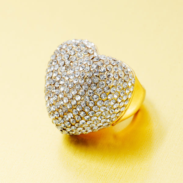 BIG LOVE STATEMENT RING (GOLD)