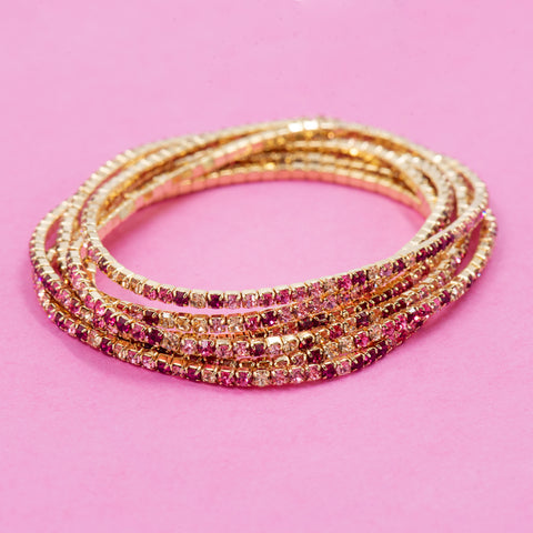 SWEET LOVE STATEMENT BRACELET (MULTI)