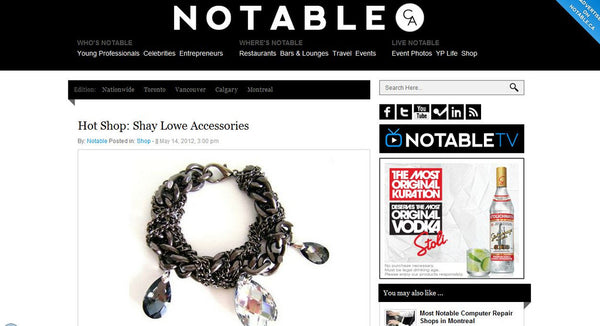 Notable - Hot Shop