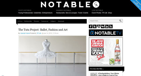Notable - The Tutu Project