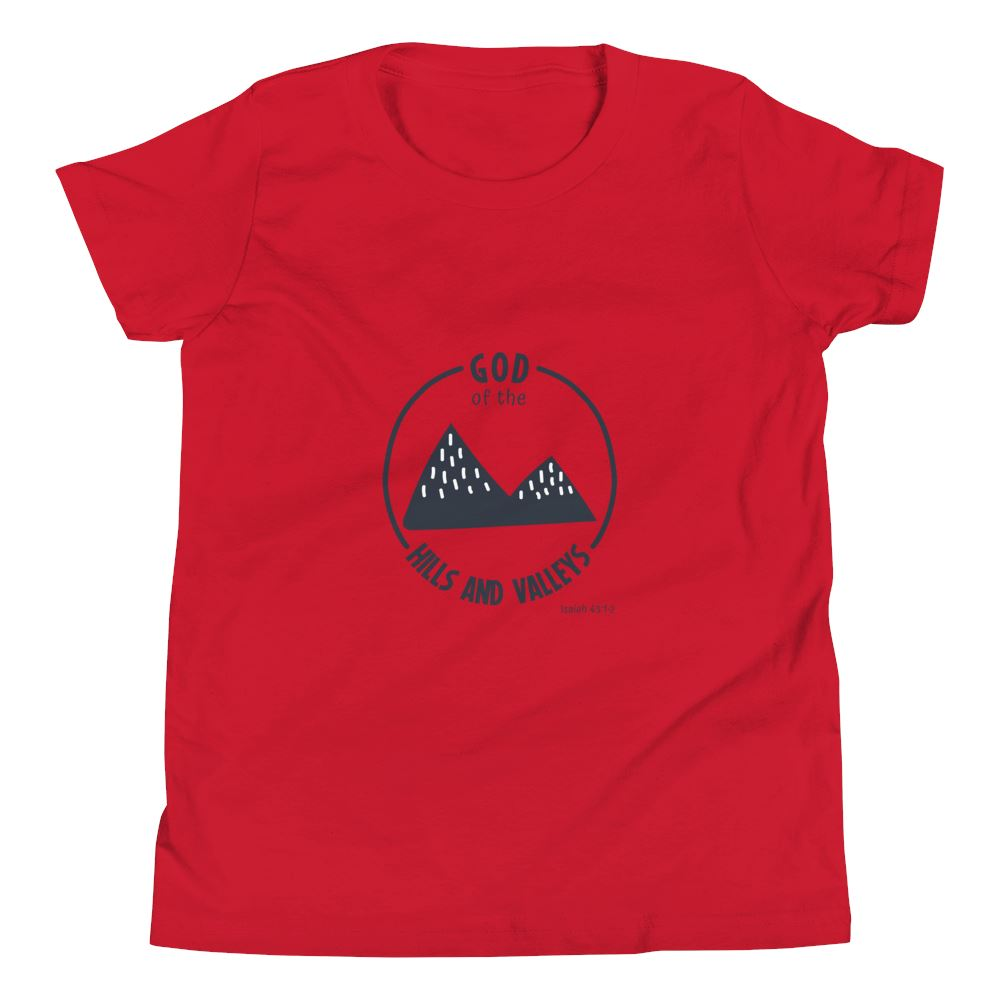 God of the Hills & Valleys - Youth US Trini-T Ministry Red S