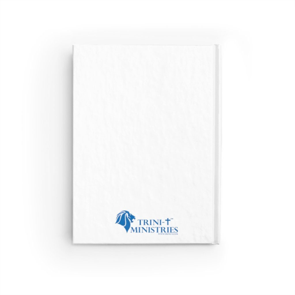 He Is Risen - Flowers -Journal - Ruled Line Paper products Printify