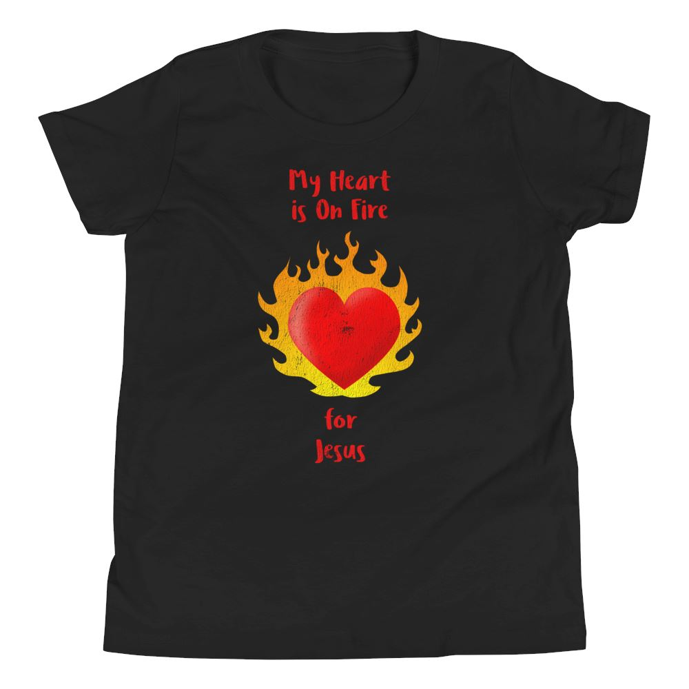 Heart On Fire - Youth EU Trini-T Ministry Black S