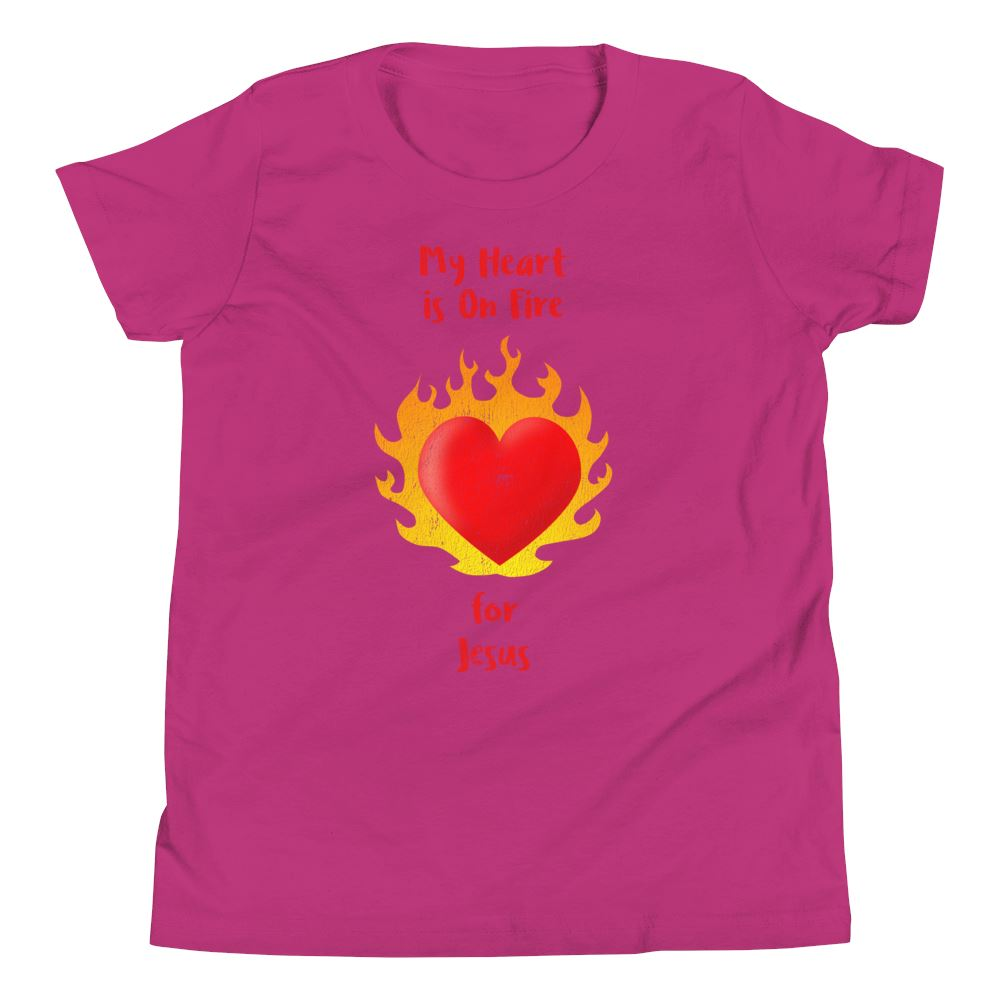 Heart On Fire - Youth US Trini-T Ministry Berry S
