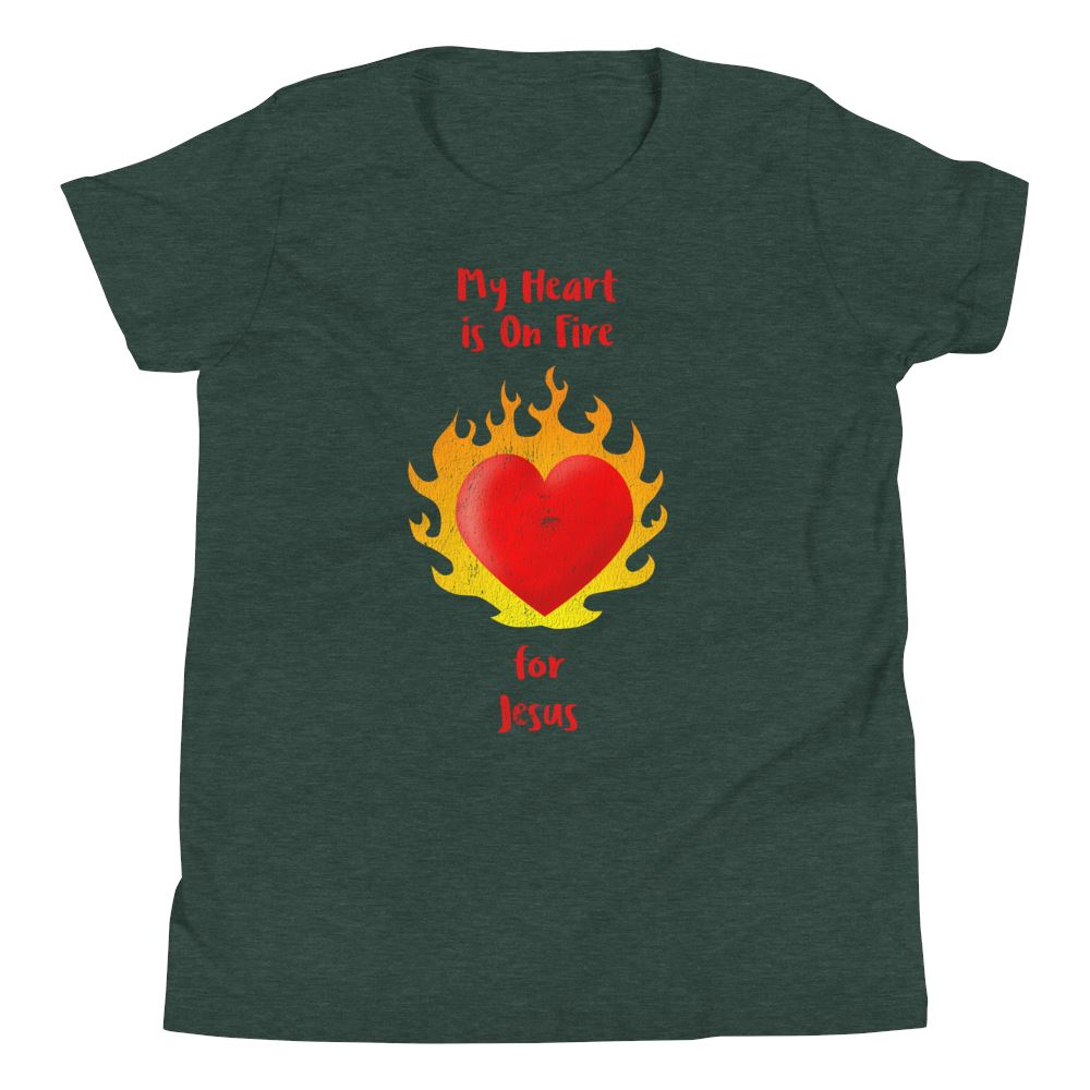 Heart On Fire - Youth US Trini-T Ministry Heather Forest S