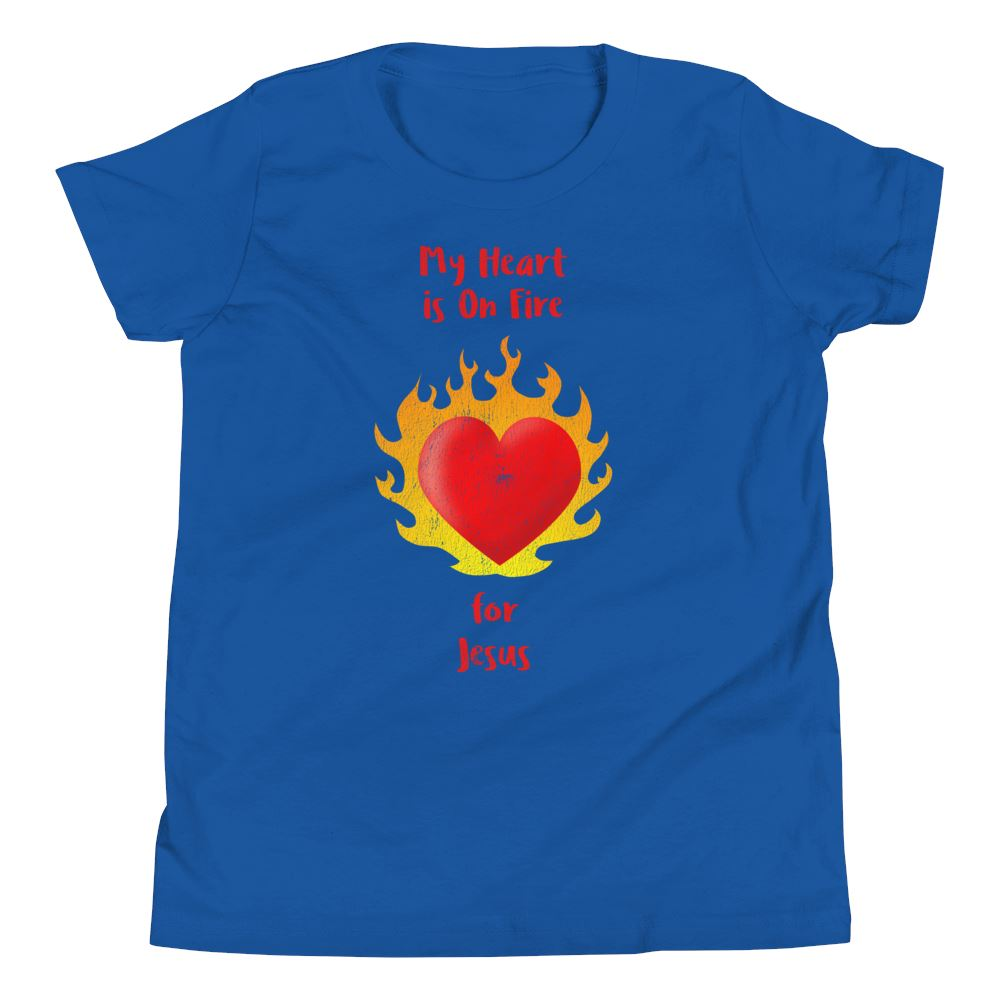 Heart On Fire - Youth US Trini-T Ministry True Royal S