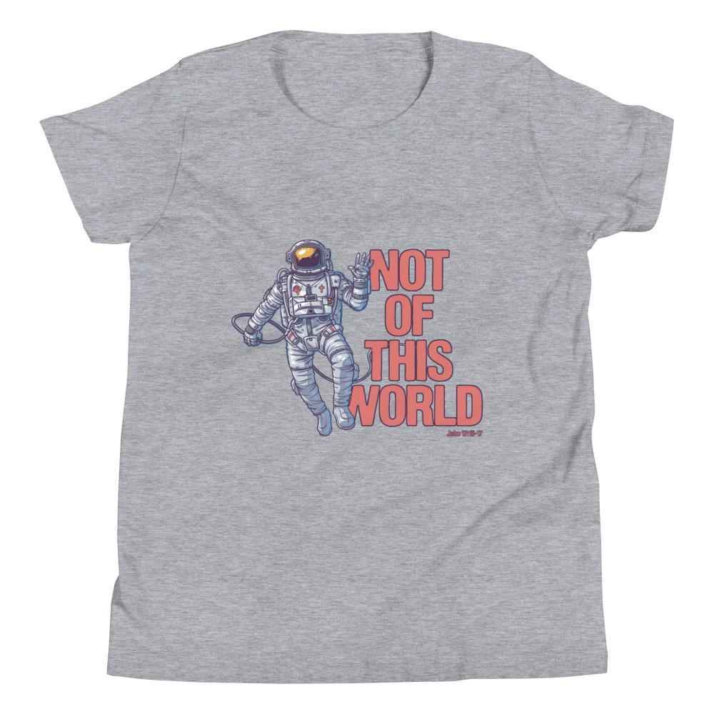 Not Of This World - Kid's T Trini-T Ministries Athletic Heather S