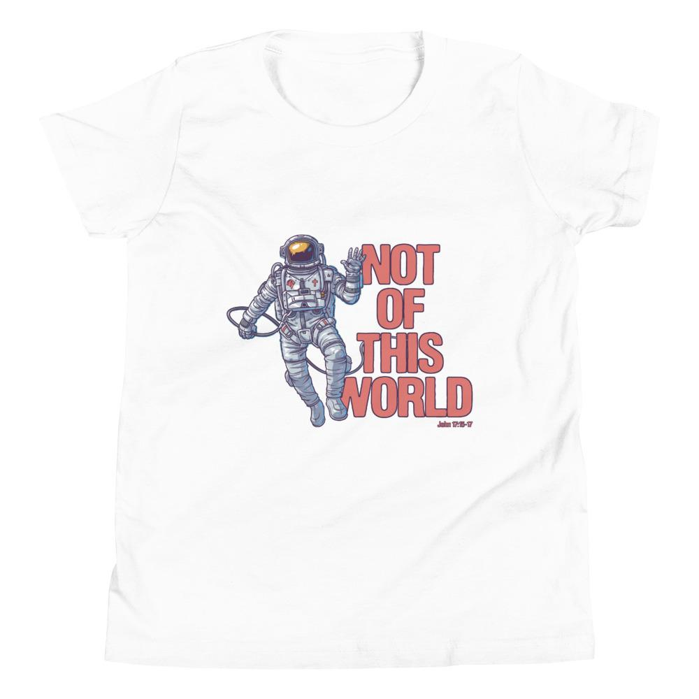 Not Of This World - Kid's T Trini-T Ministries White S
