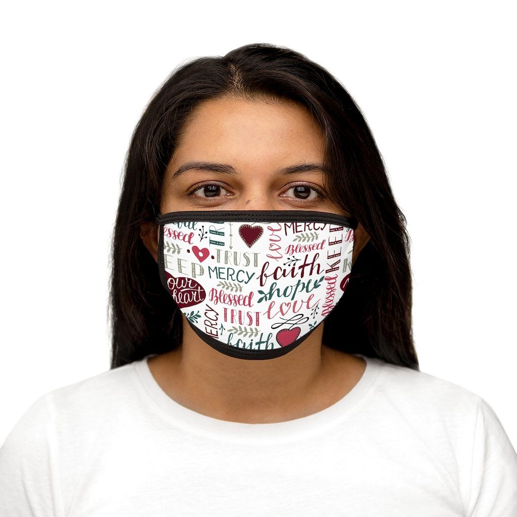 Trini-T - Blessed - Fabric Face Mask Accessories Printify