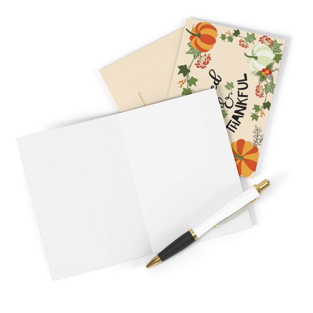 Trini-T - Blessed & Thankful - Greeting Cards (8 pcs) Paper products Printify