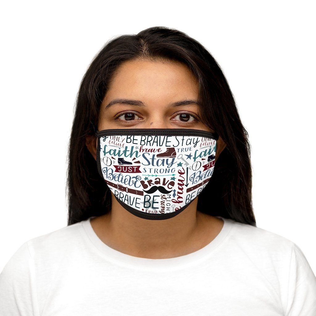 Trini-T - Brave - Fabric Face Mask Accessories Printify