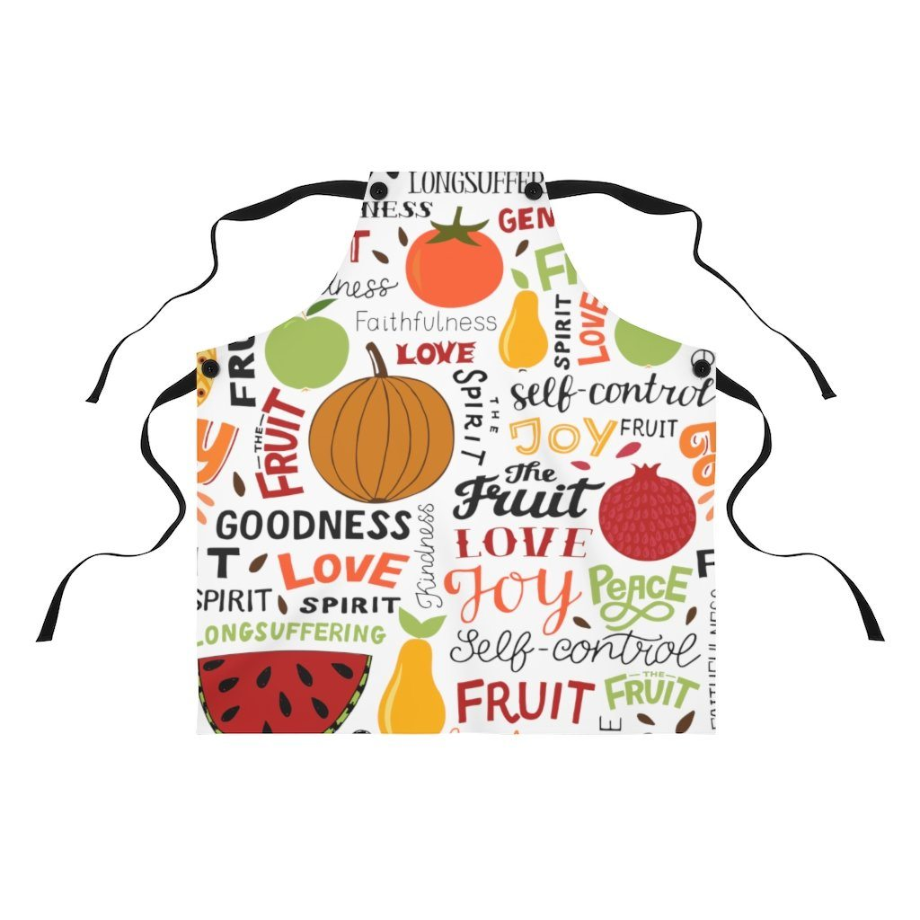 Trini-T - Fruit of the Spirit - Apron Accessories Printify One Size