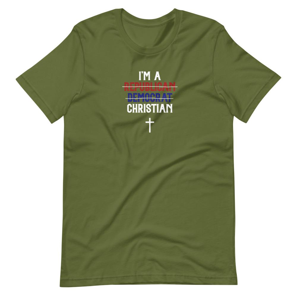 Trini-T - I Am A Christian - Men's T T-Shirt Trini-T Ministries Olive S