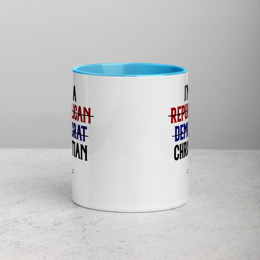 Trini-T - I Am A Christian - Mug Mugs Trini-T Ministries Blue