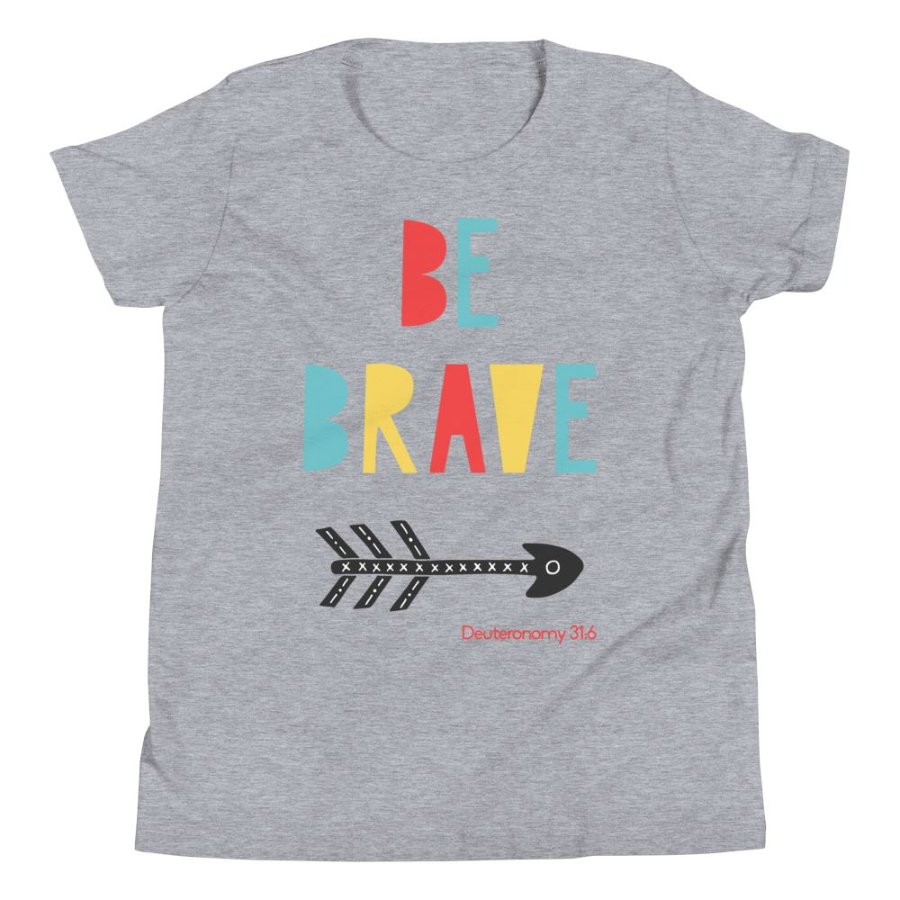Trini-T Ministries - Be Brave - Youth US Trini-T Ministry Athletic Heather S