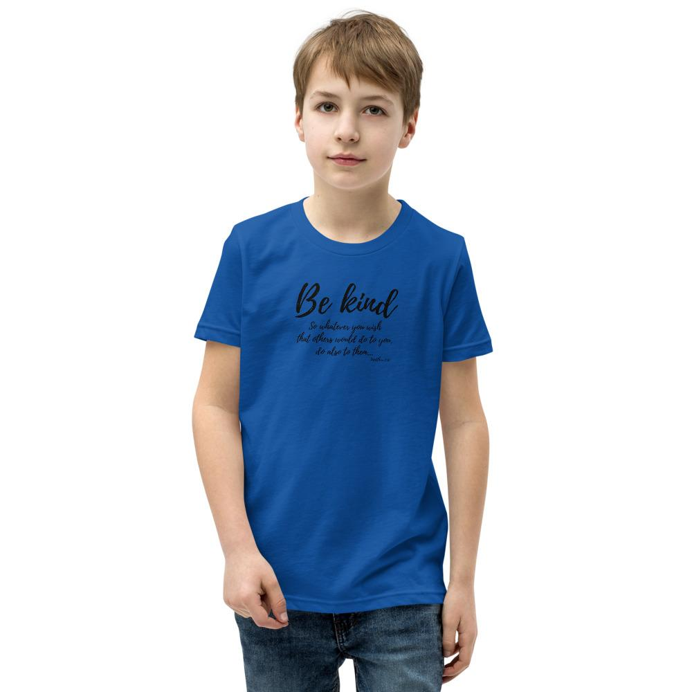 Trini-T Ministries - Be Kind - Kid's T T-Shirt Trini-T Ministries True Royal S