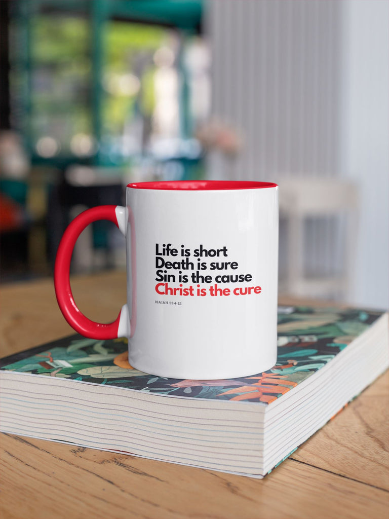 Trini-T Ministries - Christ Is The Cure - Mug Mugs Trini-T Ministries
