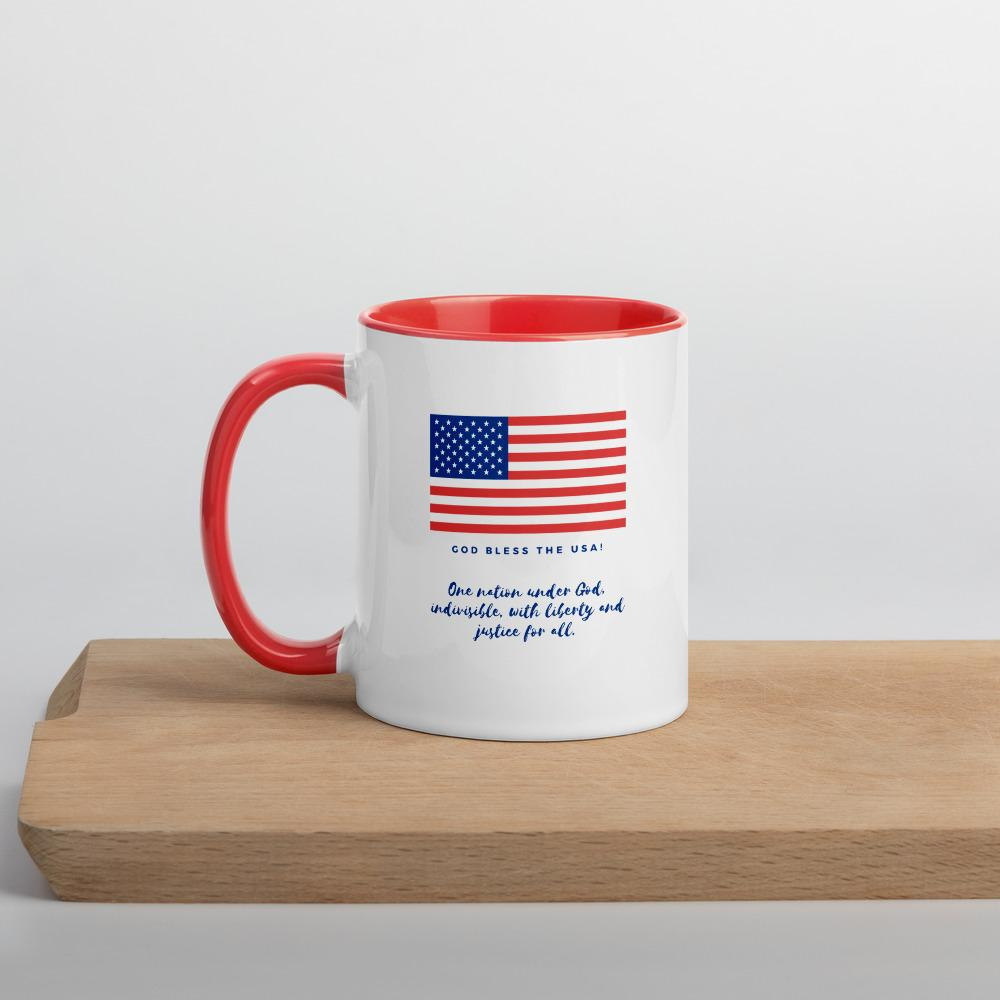 Trini-T Ministries - God Bless the USA - Mug Trini-T Ministries