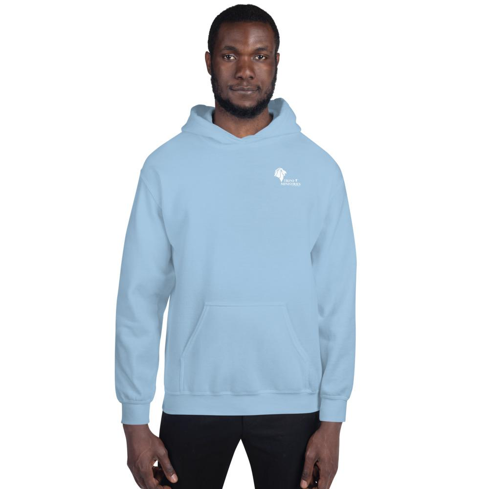 Trini-T - Ministries - NOTW - Hoodie Athletic Trini-T Ministries Light Blue S