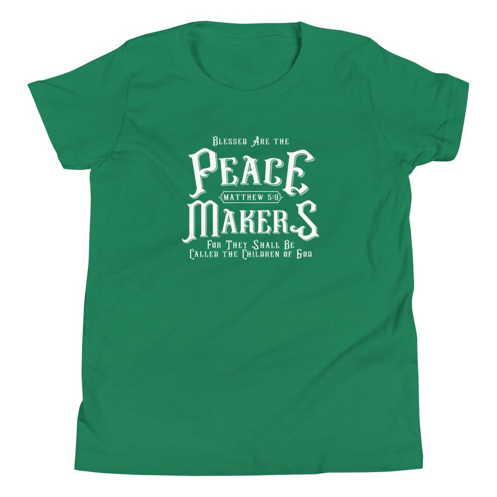 Trini-T - Peace Makers - Youth T T-Shirt Trini-T Ministries Kelly S