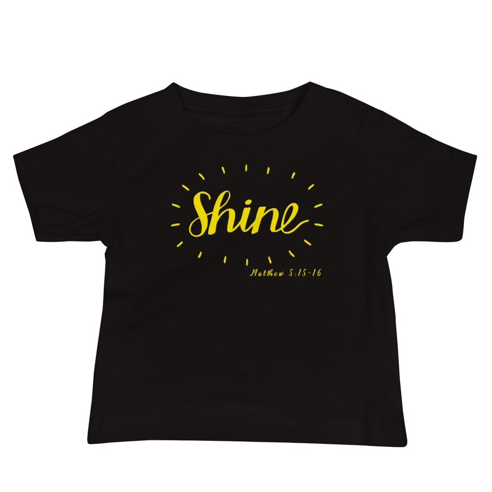 Trini-T - Shine - Baby's Kids clothes Trini-T Ministries Black