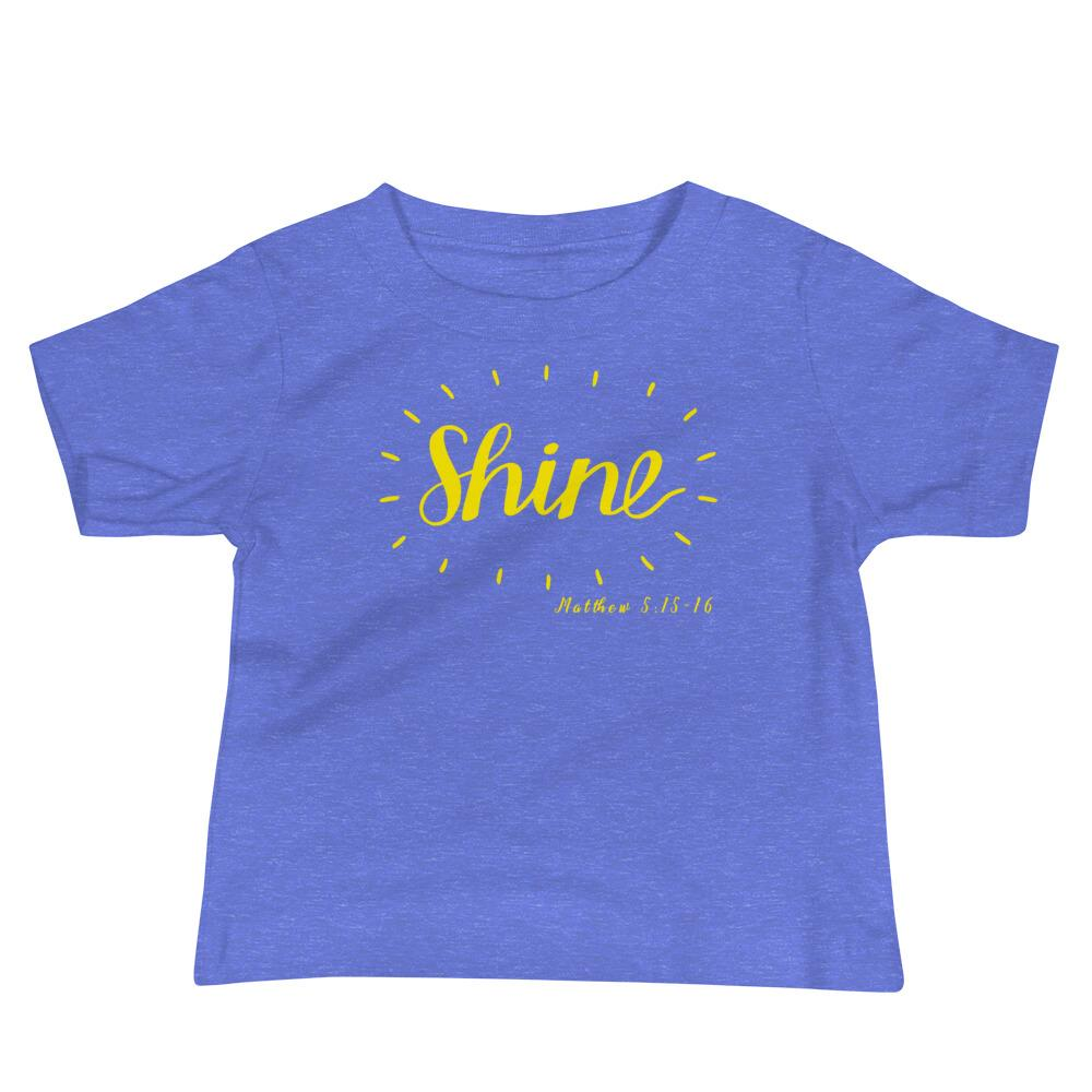 Trini-T - Shine - Baby's Kids clothes Trini-T Ministries Heather Columbia Blue