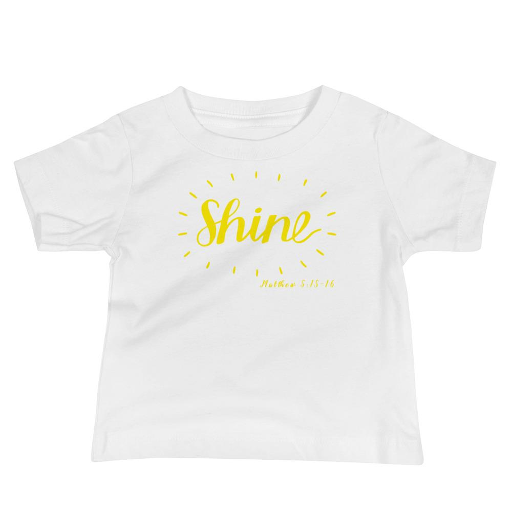 Trini-T - Shine - Baby's Kids clothes Trini-T Ministries White