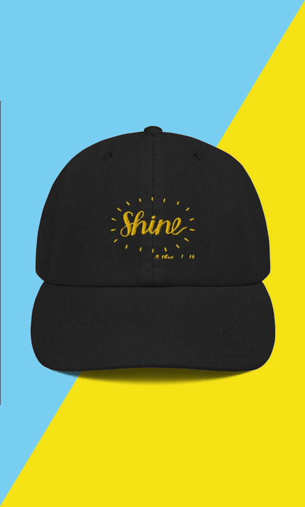 Trini-T - Shine - Champion Dad Cap Caps Trini-T Ministries
