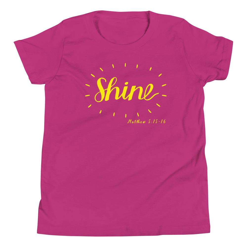 Trini-T - Shine - Youth T Kids clothes Trini-T Ministries Berry S