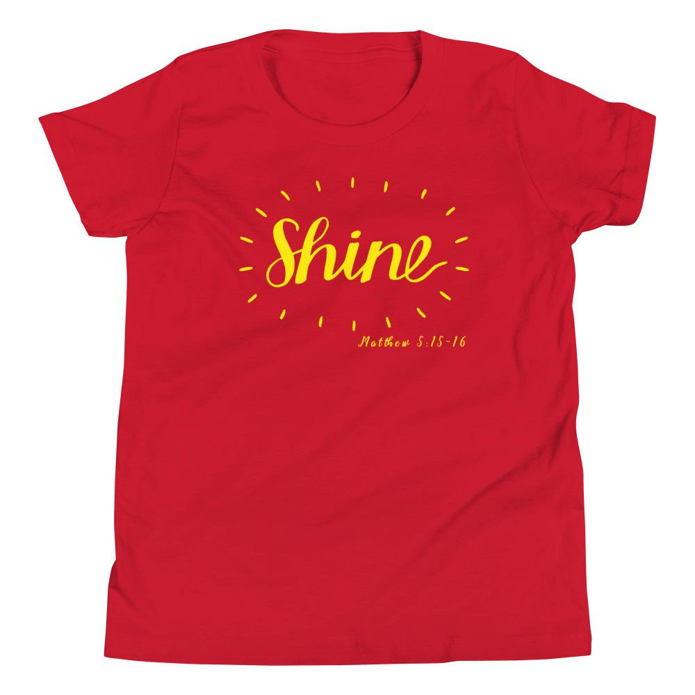 Trini-T - Shine - Youth T Kids clothes Trini-T Ministries Red S