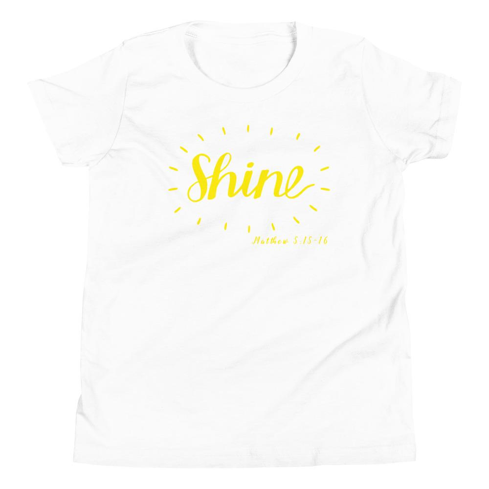 Trini-T - Shine - Youth T Kids clothes Trini-T Ministries White S