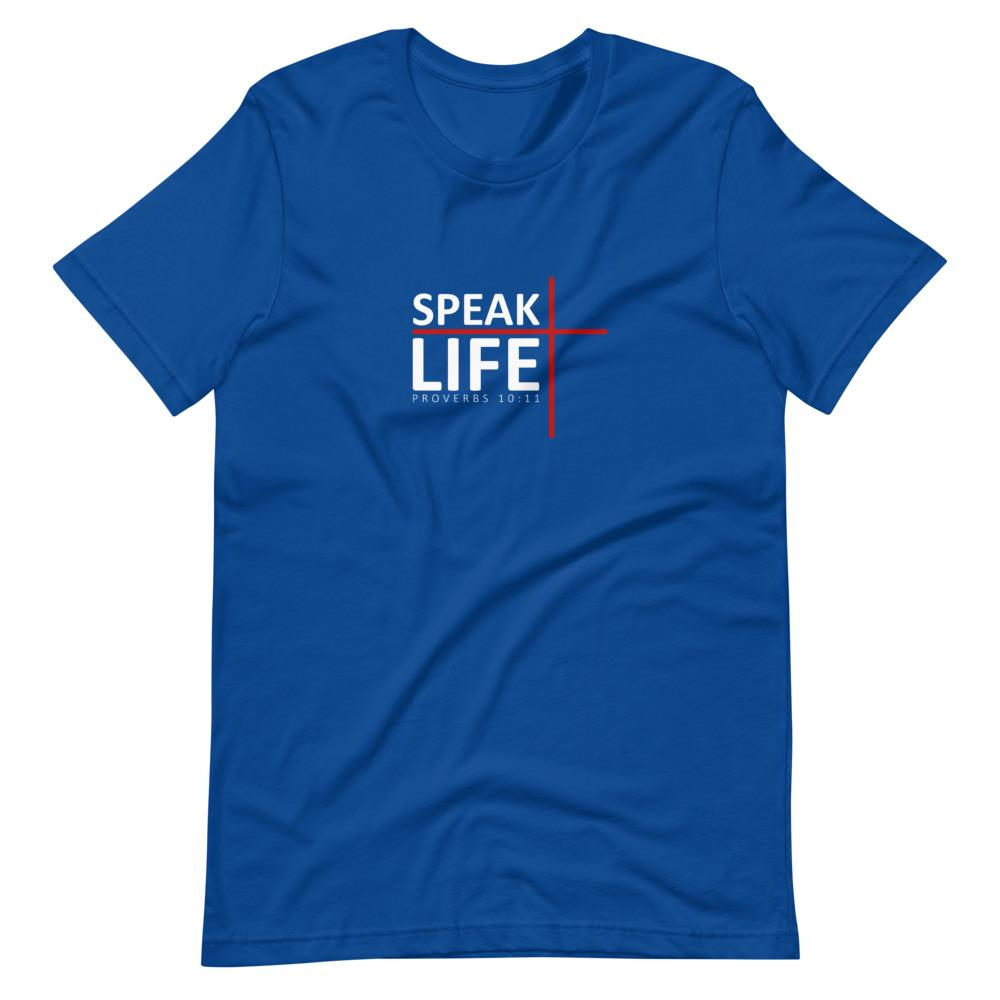 Trini-T - Speak Life - Men's T T-Shirt Trini-T Ministries True Royal S