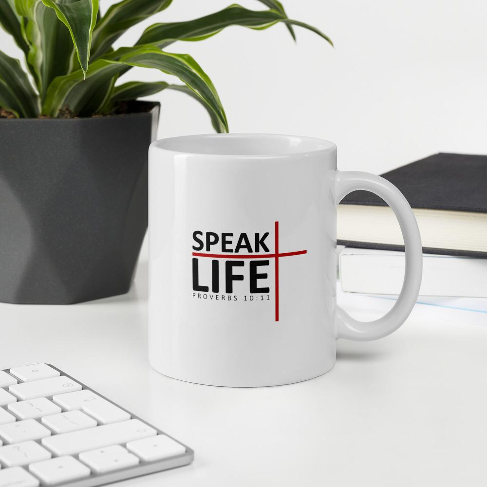 Trini-T - Speak Life - Mug Mugs Trini-T Ministries