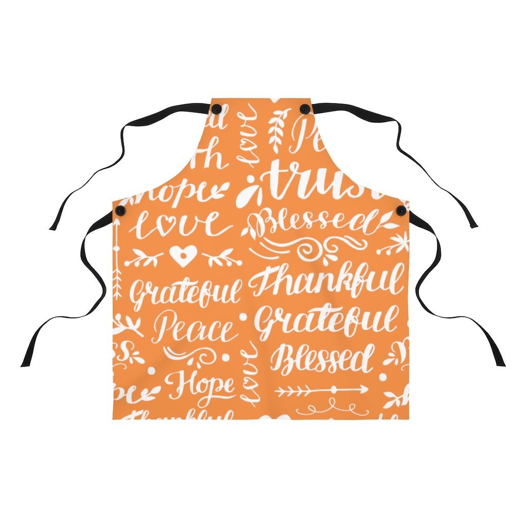 Trini-T - Thanksgiving - Apron Accessories Printify One Size