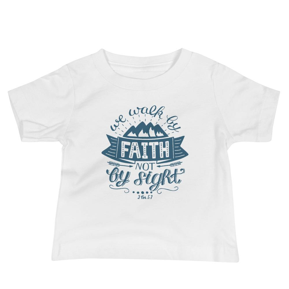 Trini-T - Walk By Faith - Baby T Trini-T Ministries White