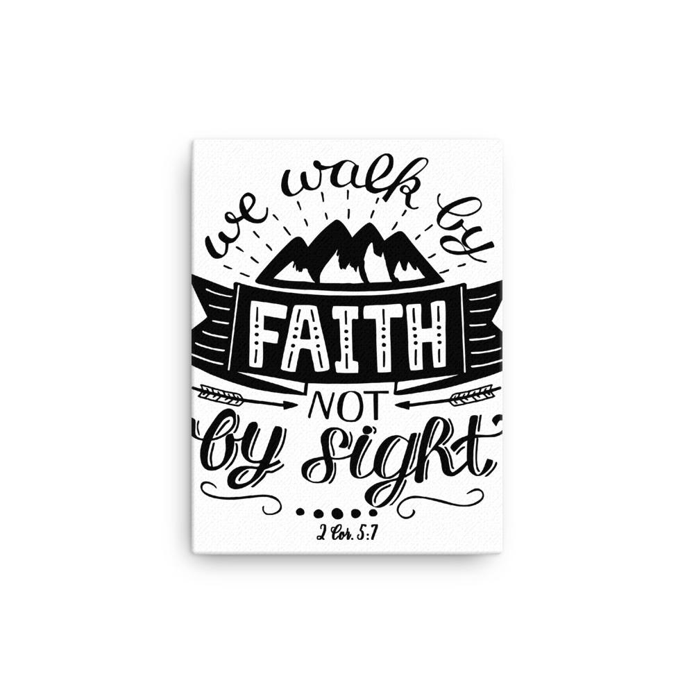 Trini-T - Walk By Faith - Canvas Trini-T Ministries 12×16